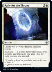 Rally for the Throne - Foil