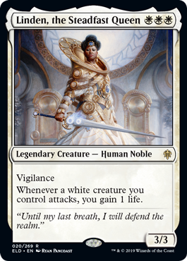Linden, the Steadfast Queen - Foil