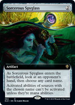 Sorcerous Spyglass - Extended Art
