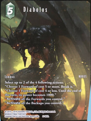 Diabolos - 5-062L - Starter Deck Exclusive - Full Art