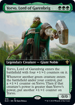 Yorvo, Lord of Garenbrig (Extended Art) - Foil