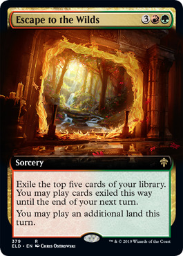 REALM-CLOAKED GIANT SHOWCASE Throne Of Eldraine Variants Magic MTG MINT CARD