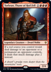 Torbran, Thane of Red Fell - Foil