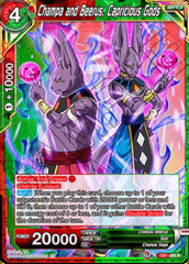 Champa and Beerus, Capricious Gods - DB1-088 - R on Channel Fireball