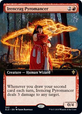 Irencrag Pyromancer - Foil - Extended Art