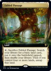 Fabled Passage (Extended Art) - Foil