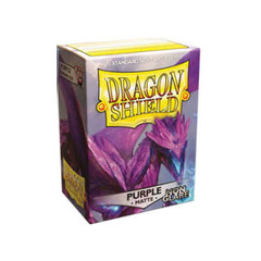 Dragon Shield Matte: Non-Glare Sleeves - Purple