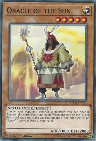 Oracle of the Sun - LED5-EN029 - Common - 1st Edition