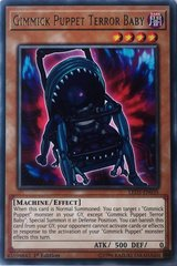 Gimmick Puppet Terror Baby - LED5-EN035 - Rare - 1st Edition on Channel Fireball