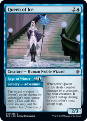 Queen of Ice // Rage of Winter - Foil