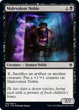Malevolent Noble - Foil