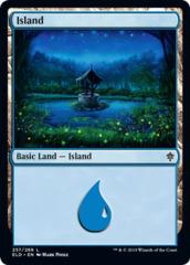 Island (257) - Foil (ELD)