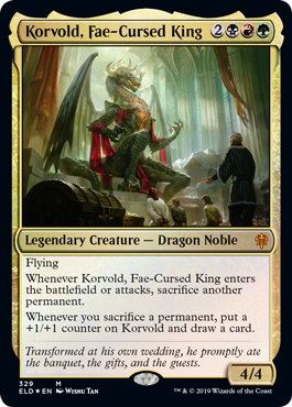 Korvold, Fae-Cursed King - Collector Pack Exclusive