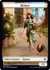 Human Token - Foil