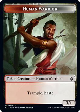 Human Warrior Token