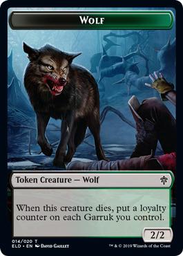 Wolf Token - Foil