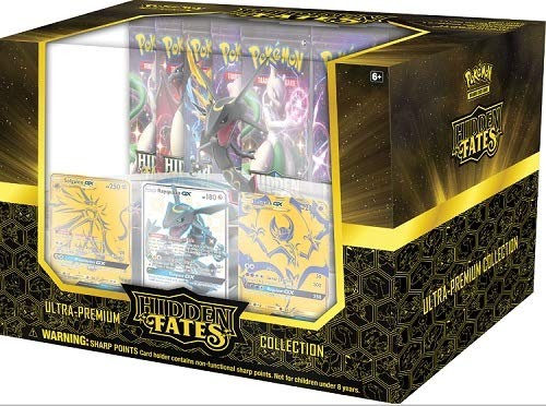 Pokemon Hidden Fates Rayquaza Ultra-Premium Collection Box