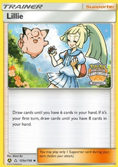 Lillie - 125a/156 - Alternate Art Holo Regionals Promo