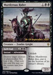 Murderous Rider // Swift End - Foil Prerelease Promo