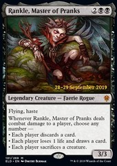 Rankle, Master of Pranks - Foil Prerelease Promo