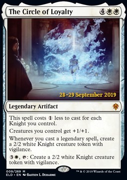 The Circle of Loyalty - Foil Prerelease Promo