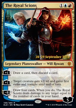 The Royal Scions - Foil Prerelease Promo