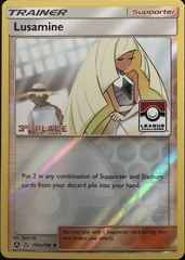 Lusamine - 153a/156 - League Challenge Alternate Art Promo - 3rd Place