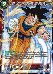 Son Goku, Preparing for Battle - EX07-01 - EX - Foil