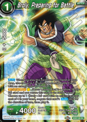 Broly, Preparing for Battle - EX07-06 - EX
