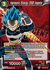 Harmonic Energy SSB Vegeta - BT6-007 - PR
