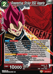 Preemptive Strike SSG Vegeta - BT6-008 - PR