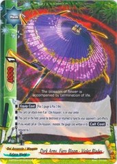 Dark Arms, Fiery Bloom - Violet Blades - - S-BT02A-SP/0021EN - C