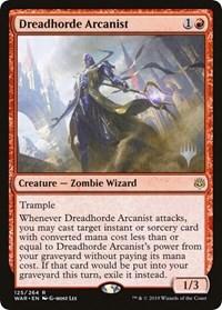 Dreadhorde Arcanist - Foil - Promo Pack