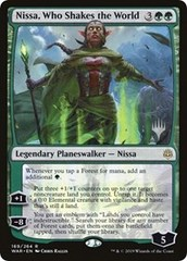Nissa, Who Shakes the World - Foil - Promo Pack