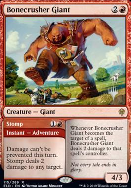 Bonecrusher Giant // Stomp - Promo Pack