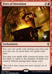 Fires of Invention - Foil - Promo Pack