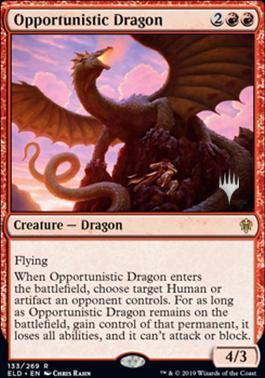 Opportunistic Dragon - Foil - Promo Pack