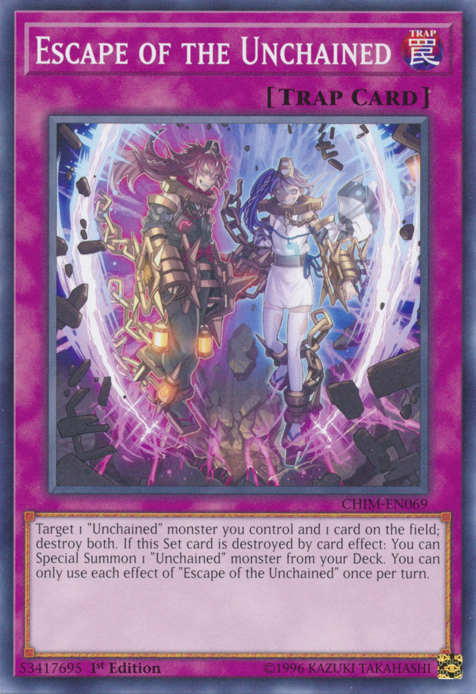 Escape of the Unchained - CHIM-EN069 - Common - 1st Edition