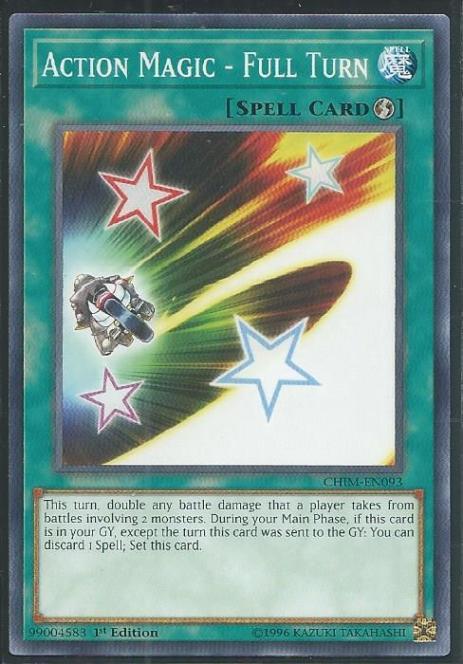 Action Magic - Full Turn - CHIM-EN093 - Common - 1st Edition