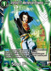 Android 17, Mechanical Prowess - XD2-02 - ST - Foil