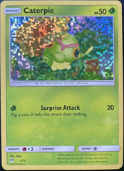 Caterpie - 1/12 - McDonald's Promo 2019