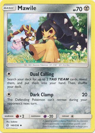 Common Pokemon Card Golett 89//236 Cosmic Eclipse Set 2019 - NM