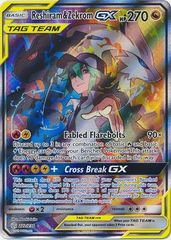 Reshiram & Zekrom Tag Team GX - 222/236 - Full Art Ultra Rare