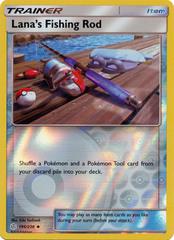 Lana's Fishing Rod - 195/236 - Uncommon - Reverse Holo