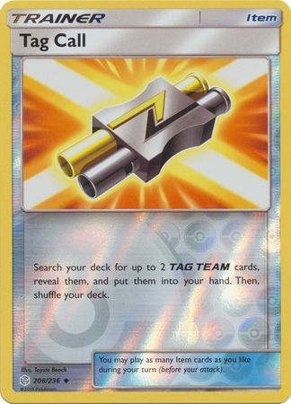 Tag Call - 206/236 - Uncommon - Reverse Holo