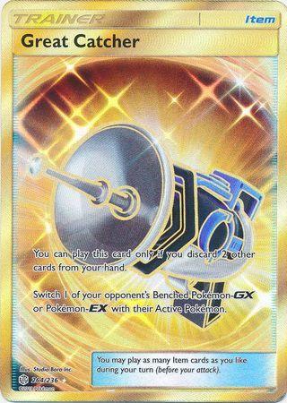 Great Catcher - 264/236 - Secret Rare