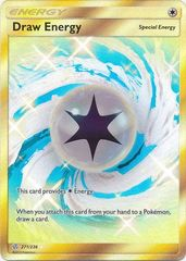 Draw Energy - 271/236 - Secret Rare