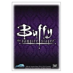 Dragon Shield Sleeves: Classic Art - Buffy the Vampire Slayer - Buffy Crest (Box of 100)