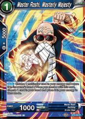 Master Roshi, Masterly Majesty - BT8-032 - R