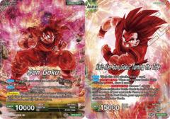 Son Goku // Kaio-Ken Son Goku, Turning the Tide - BT8-044 - C - Foil
